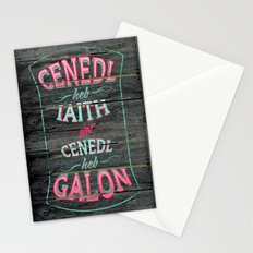 Cenedl Stationery Cards