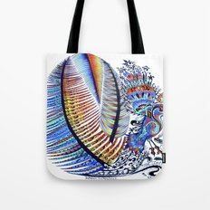 Which Came First? The Indigo or the Egg? Tote Bag