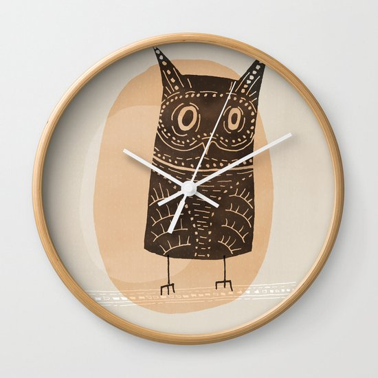 This is my owl Wall Clock