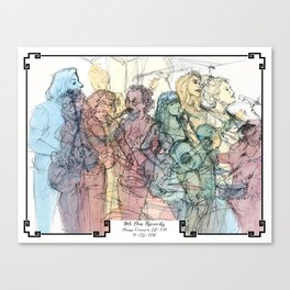 11th Ave Records House Concert Canvas Print