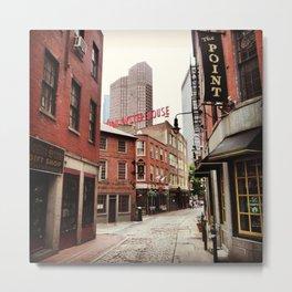 Boston mini-series no. 3 - Oyster street Metal Print