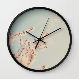 spring is in bloom ...  Wall Clock