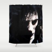 sandman Shower Curtains featuring Dream by Anastase Kyriakos