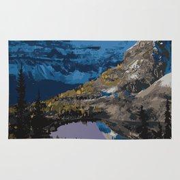 Mt. Assiniboine Provincial Park Rug