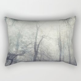 twistEd - foggy forest Rectangular Pillow