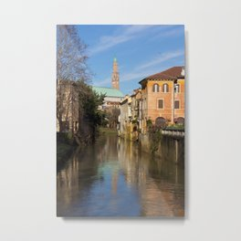 Bridge with a view Metal Print