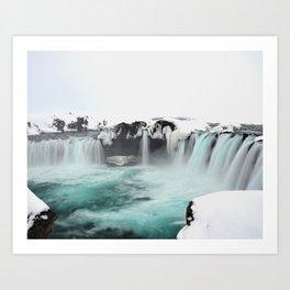 Godafoss-Iceland Art Print
