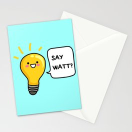 Wattever! Stationery Cards