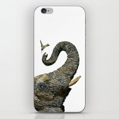 Elephant Cyril And Hummingbird Ayre 2 iPhone Skin