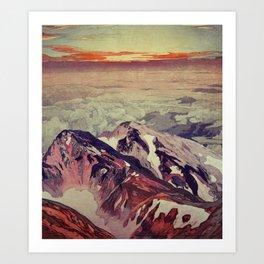 Victory the Climb Art Print