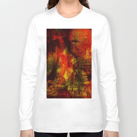 American Kiss Long Sleeve T-shirt