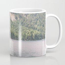 Tree and Lake - Mountain Lake Landscape - Summer Alps Germany  Coffee Mug