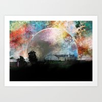 infinite Art Prints featuring Infinite by J.Lauren