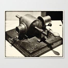 Phonograph Prototype Canvas Print