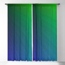 Prismatic Triangle Rays Blackout Curtain