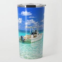 Beautiful Bahamas Ocean Travel Mug