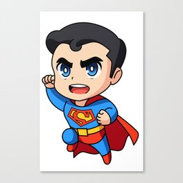 Man of All Supers Canvas Print