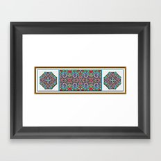 Tahitian Garden Framed Art Print