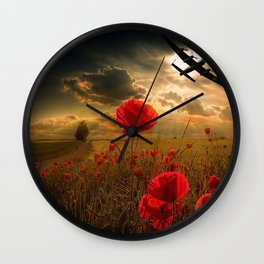 Homeward Bound Wall Clock