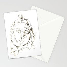Never in The Right Place Stationery Cards