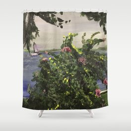 Southport Waterfront Shower Curtain