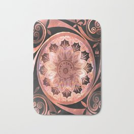 A Penny For Your Thoughts Mandala Bath Mat