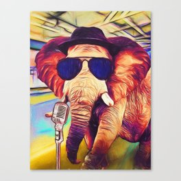 Trunk it Up Canvas Print