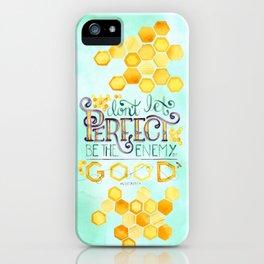 Perfect//Good iPhone Case