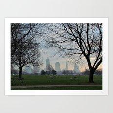 Good Morning, Cleveland Art Print