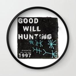 Good Will Hunting | Gus Van Sant Wall Clock