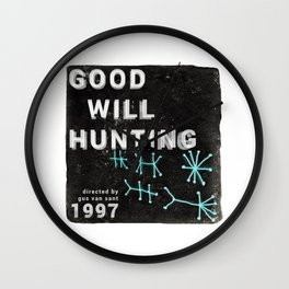 Good Will Hunting | Gus Van Sant Wall Clock