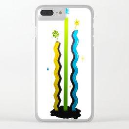 Moca Mural Series - Louie C Clear iPhone Case