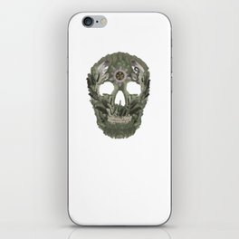 Jungle Skull iPhone Skin