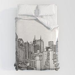 New York View 2 Duvet Cover