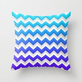 Chevrons V Throw Pillow