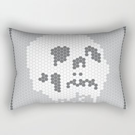 Skull Tile Rectangular Pillow
