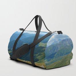 panorama on adventure park hög alps serfaus fiss ladis tyrol austria europe Duffle Bag