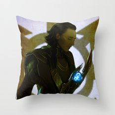 Bringer of the Chaos Throw Pillow