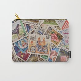 Stamps of the World Carry-All Pouch