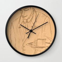 The Waiter Wall Clock