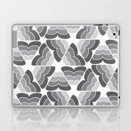 scale pattern gray white a901 Laptop & iPad Skin