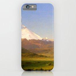 12,000pixel-500dpi - Cotopaxi II - frederic edwin church iPhone Case