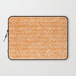 Sherbet Herringbone Lines Laptop Sleeve
