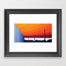 St. Ives  Sunset Two Framed Art Print