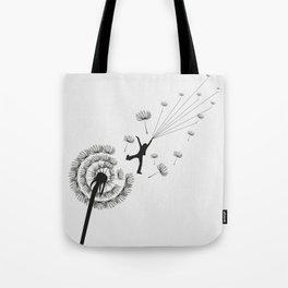 Free Dandelion Tote Bag