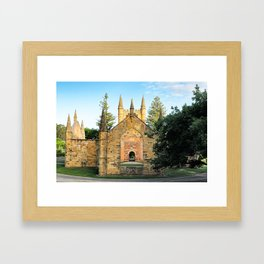 Port Arthur Convict Church Framed Art Print