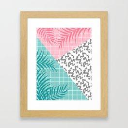 Malibu #society6 #decor #buyart Framed Art Print