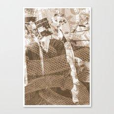 Industrial Woman Canvas Print