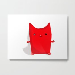 Woobly the Cat Metal Print