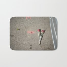 Say it with flowers Bath Mat